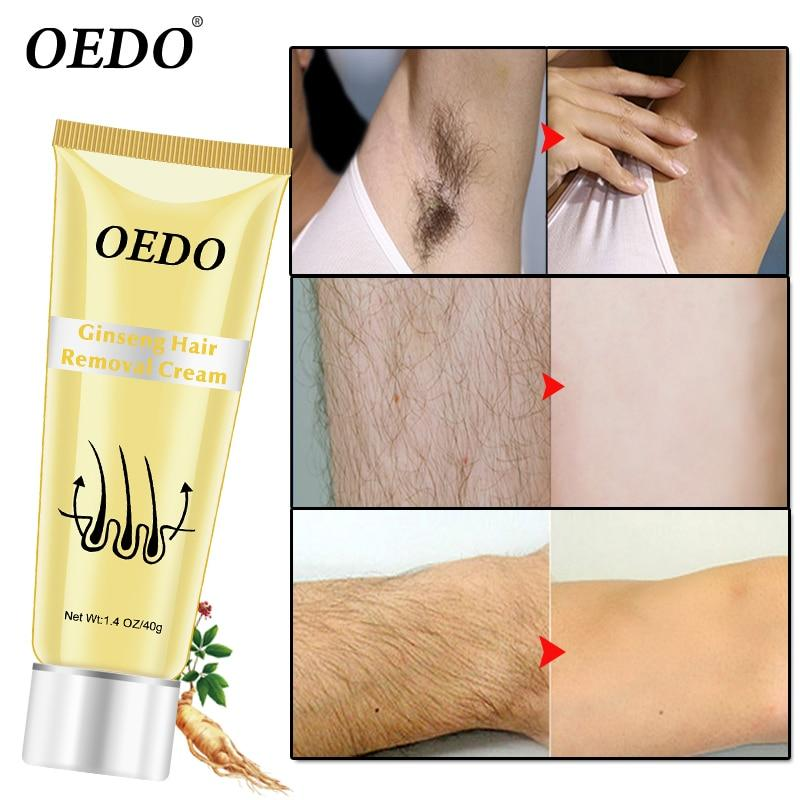 Ginseng Body Hair Removal Cream For Men And Women Hand Leg Hair Loss Depilatory Cream Removal Armpit Hair Care