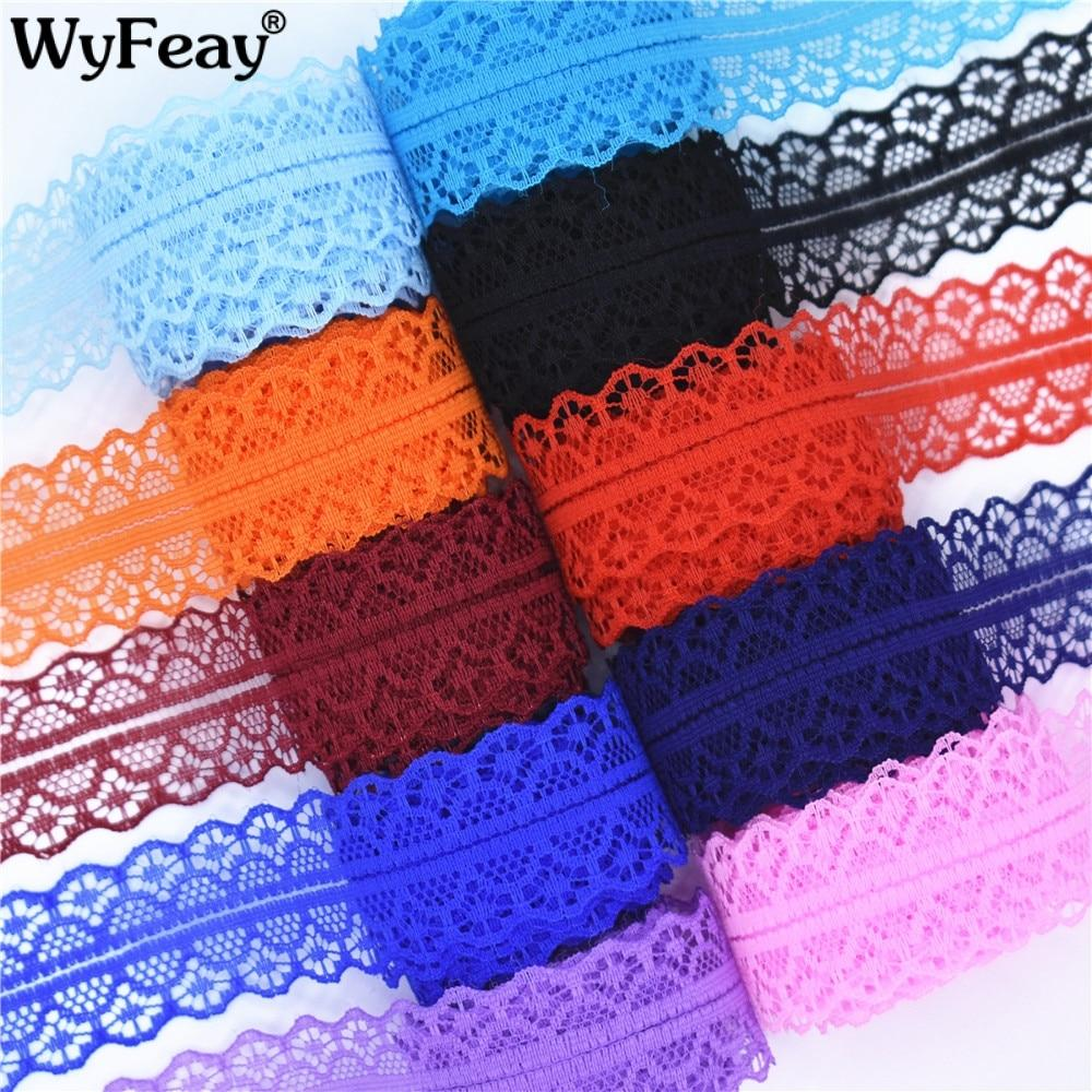 10 Yards Lace Ribbon Tape Width 45mm Trim Fabric Diy Embroidered Net