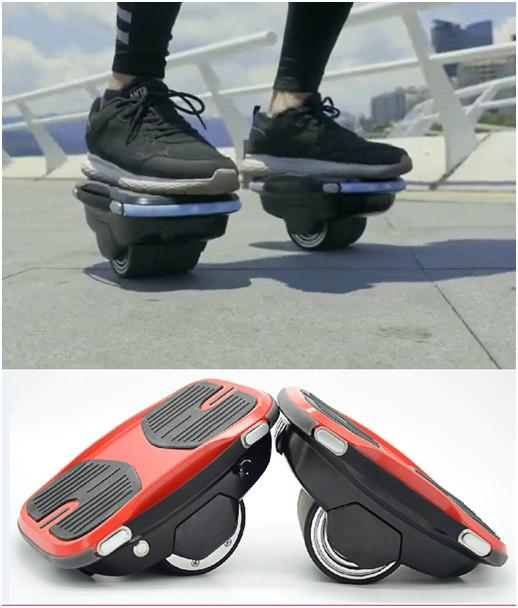 electric overshoose scooter shoes Self