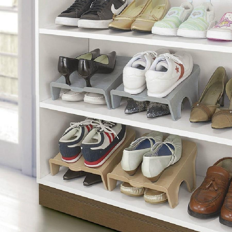 Thick Double Shoe Racks Modern Cleaning